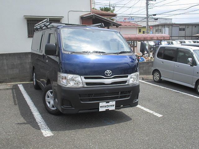 トヨタ ロングDX ルーフキャリア リアラダー ETC
