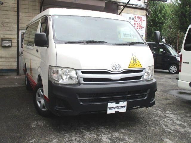 トヨタ  幼児バス 大人2名 幼児12名 普通免許