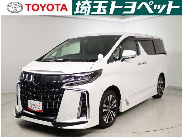 トヨタ アルファード 3.5SC メーカーナビ 後席モニター TRDフルエアロ