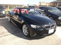 BMW335iカブリオレMスポーツ ツインターボ 赤革シート