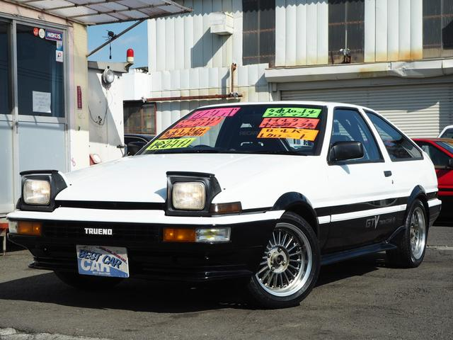 トヨタ GTV 3ドアハッチバック4スロ仕様7点ロールケージエアコン