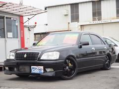 クラウンアスリートV 公認6速純正202ブラック内装黒サンルーフ付
