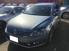 VW パサートヴァリアントTSIハイライン 純正ナビ フルセグTV アルミ17インチ