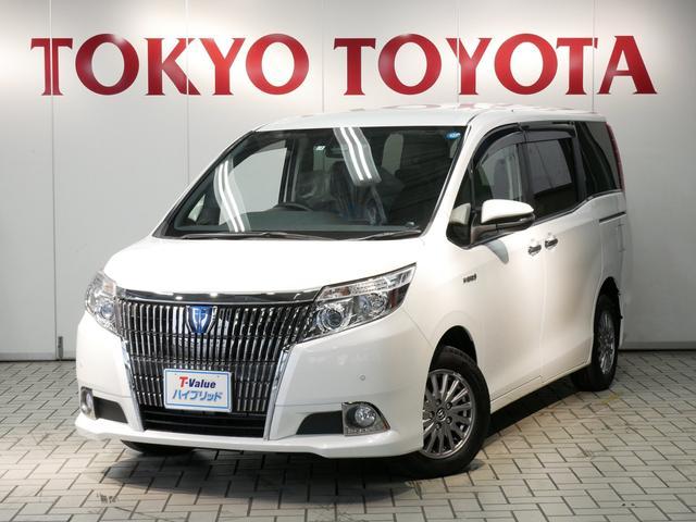 トヨタ ハイブリッドGi 純正10.5型SDナビ セーフティセンス
