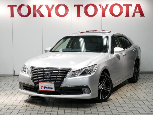 トヨタ ロイヤルサルーン サンルーフ TRD製アルミ ICS