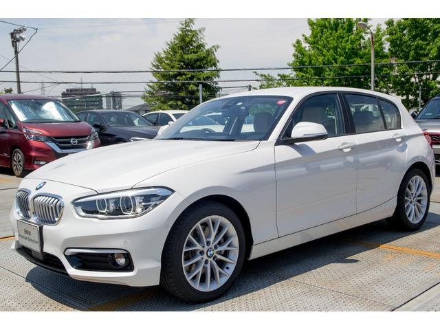 BMW 118d ファッショニスタ ダコタオイスターレザー LED