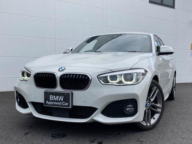 BMW 118i Mスポーツ 認定保証 ブラックレザー ACC