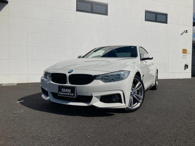 BMW 435iクーペ スポーツ ブラックレザー 地デジ ACC LED