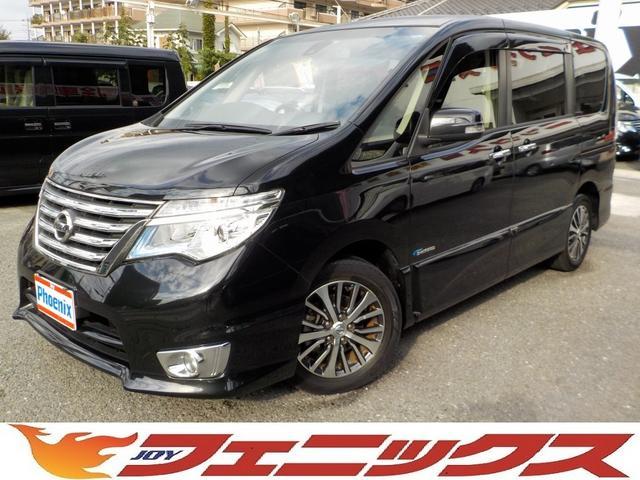 日産 HS-Vセレ+セーフティSHV純正ナビ両電動ドア自動ブレーキ