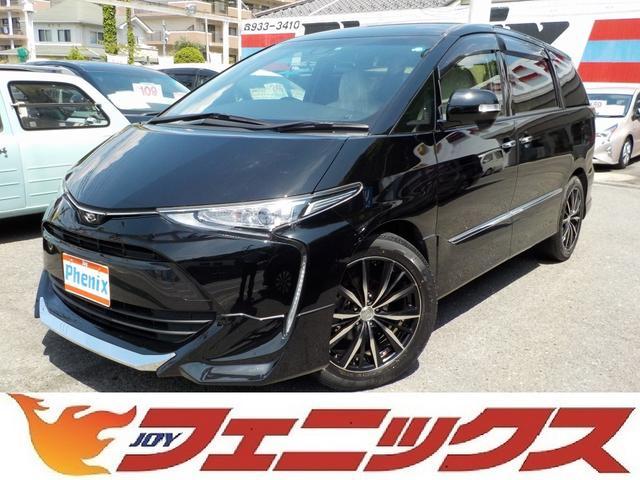 トヨタ アエラススマート4WD軽減ブレーキ黒革ナビ地デジ両側電動ドア