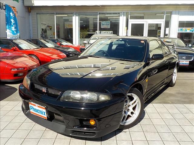 日産 GT-R Vスペック D席レカロシートHKSデュアルマフラー