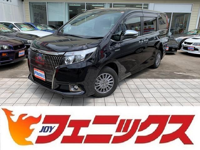 トヨタ Giブラックテーラード専用ナビ後席モニタ黒本革W自動D7人乗
