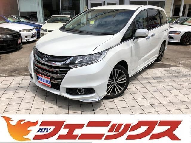 ホンダ アブソルート・EX専用ナビ地デジ半革シート両側自動ドアETC