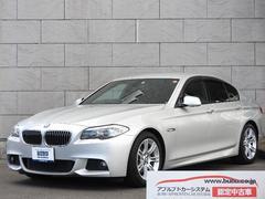 BMW528i Mスポーツパッケージ 黒革 純正HDDナビ