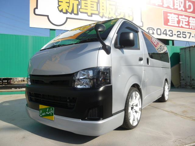 トヨタ ロングDX5速マニュアル床張り加工