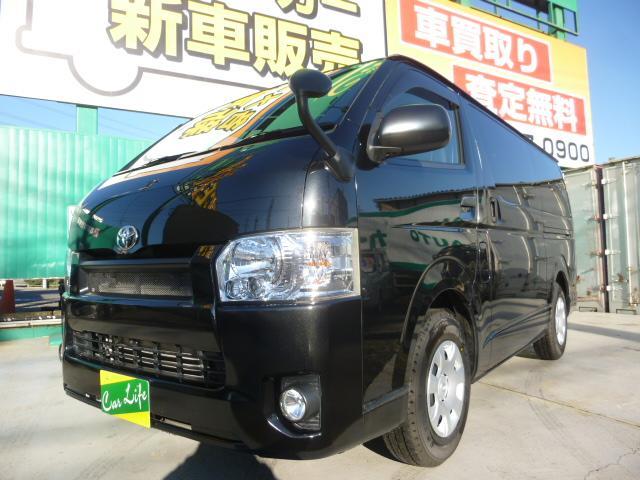 トヨタ ロングDX GLパッケージ二列目S-GLシート5ドアMT5速