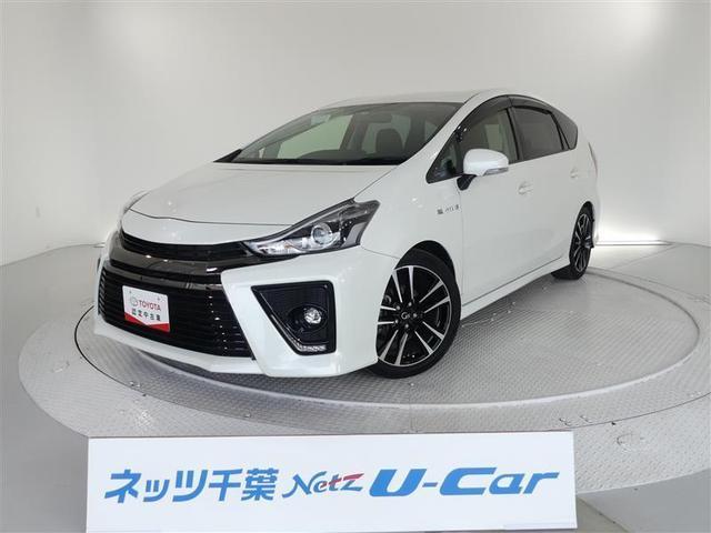 トヨタ プリウスアルファ Sツーリングセレクション・G's 純正SDナビ ETC