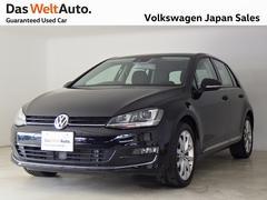 VW ゴルフTSIハイライン ディスカバープロ ワンオーナー認定中古車