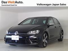 VW ゴルフR1オーナ ブラックレザー!禁煙!4WD VW認定中古車