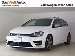VW ゴルフRヴァリアントベースグレード 1オーナ レザー 禁煙車 正規認定中古車