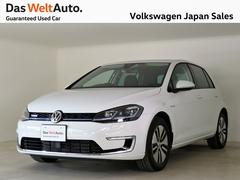 VW e−ゴルフベースグレード 禁煙 NAVI Bカメラ インポーター所有車