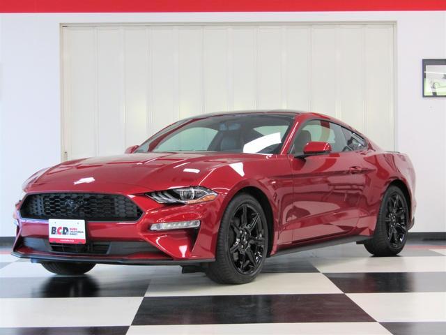 フォード マスタング  エコブースト プレミアム BCD自社輸入車 6速マニュアル ブラックアクセントPKG