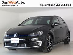 VW ゴルフGTEプラグインハイブリッド車 純正ナビ・ETC・バックカメラ装備