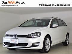 VW ゴルフヴァリアントハイライン デモカー禁煙純正ナビTV Bカメラ 弊社デモカー