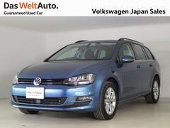 VW ゴルフヴァリアント元デモカー 禁煙 ナビ ETC TSI コンフォートライン