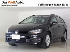 VW ゴルフヴァリアント【特選車】ワンオーナー ナビ ETC 禁煙 TSI CL