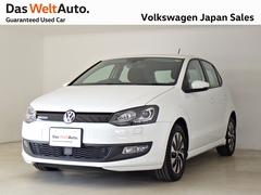VW ポロブルーモーションデモカー禁煙 純正ナビTV ACCキセノン