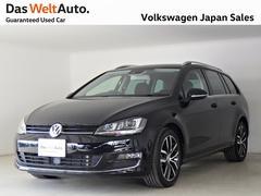 VW ゴルフヴァリアント禁煙ワンオーナーハイラインDCC純正ナビTVレーンキープ