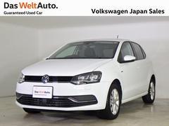 VW ポロ限定車ラウンジ禁煙 ワンオーナー コンポジ緊急ブレーキ
