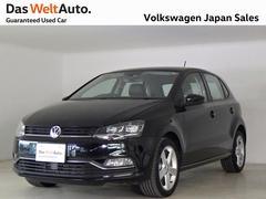 VW ポロTSIハイライン デモカー 禁煙車 VW純正ナビTV LED