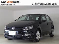 VW ポロコンフォートライン マイスター デモカー禁煙 純正ナビTV