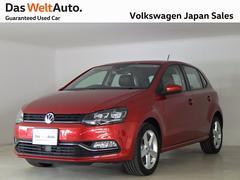 VW ポロハイライン 禁煙デモカー 純正ナビ TV LED