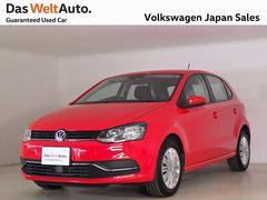VW ポロコンフォートライン禁煙デモカー純正ナビTV ETC Bカメラ