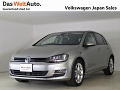 VW ゴルフハイライン黒革シート禁煙デモカー純正ナビACCレーンキープ