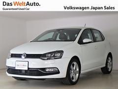 VW ポロハイライン禁煙デモカー 純正ナビTV ACC バックカメラ