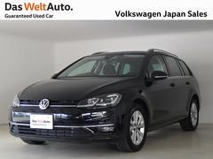 VW ゴルフヴァリアント7.5型 コンフォート禁煙デモカー純正ナビTVバックカメラ