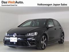 VW ゴルフR6DSG禁煙デモカー レザーシート 4モーション純正ナビTV