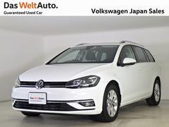 VW ゴルフヴァリアントコンフォートライン禁煙デモカー純正ナビTV LEDライト
