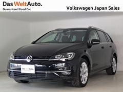 VW ゴルフヴァリアント7.5型ハイライン テクパケ 禁煙デモカー純正ナビTV