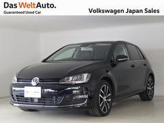 VW ゴルフ黒レザーDCC付 ハイライン禁煙ワンオーナー純正ナビTV
