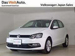 VW ポロコンフォートライン禁煙デモカー純正ナビTV