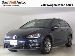 VW ゴルフヴァリアントRラインED 純正ディスプロ ACC 禁煙1オナ 認定中古車