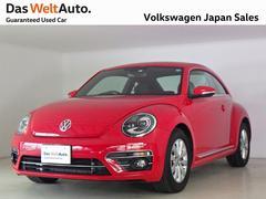VW ザ・ビートルデザイン デモカー禁煙ワンオーナー純正ナビTV ETC