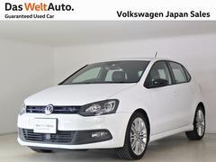 VW ポロブルーGT 禁煙デモカー 純正ナビTV キセノン ACC