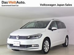 VW ゴルフトゥーランTSI ハイライン禁煙ワンオーナー純正ナビTV