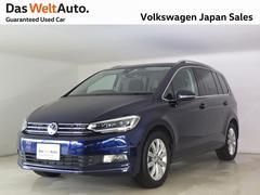 VW ゴルフトゥーランTSI ハイライン 禁煙ワンオーナー純正ナビTV Bカメラ